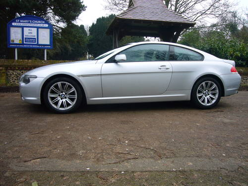 bmw 645 6 speed manual, 2004, 2 owners, very rare For Sale (picture 1 of 6)