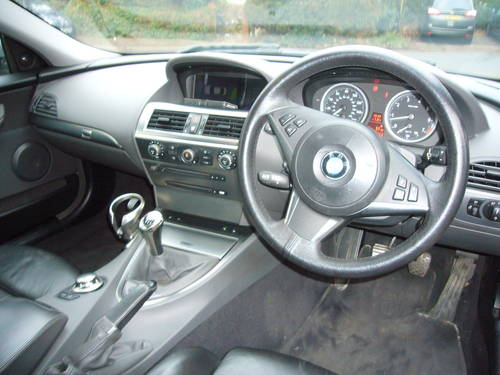 bmw 645 6 speed manual, 2004, 2 owners, very rare For Sale (picture 4 of 6)