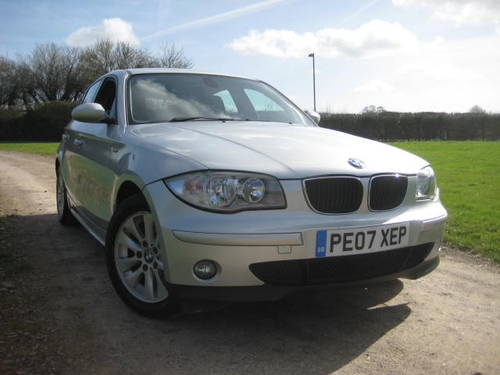 2007 BMW 1 Series 116i SE 1.6 (104,319 miles)  For Sale (picture 1 of 6)