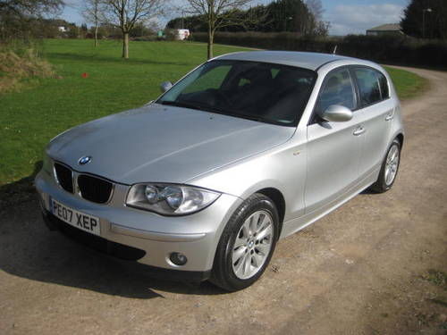 2007 BMW 1 Series 116i SE 1.6 (104,319 miles)  For Sale (picture 3 of 6)