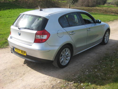 2007 BMW 1 Series 116i SE 1.6 (104,319 miles)  For Sale (picture 4 of 6)