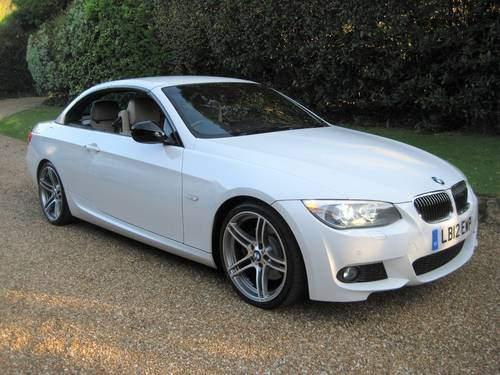 2012 BMW 330D Sport Plus Edition Convertible With 27,000 Miles  For Sale (picture 2 of 6)