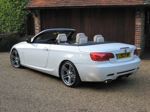 2012 BMW 330D Sport Plus Edition Convertible With 27,000 Miles  For Sale (picture 5 of 6)