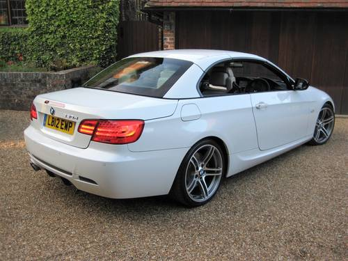 2012 BMW 330D Sport Plus Edition Convertible With 27,000 Miles  For Sale (picture 6 of 6)