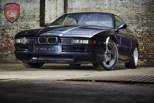 1995 BMW 850 CSI * gorgeous colour combination SOLD (picture 1 of 6)
