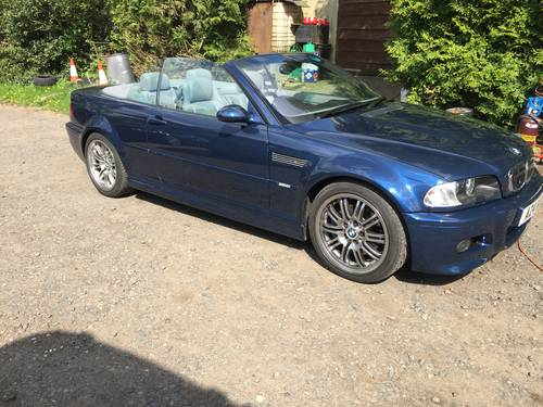2004 BMW M 3 Convertible. For Sale (picture 1 of 6)