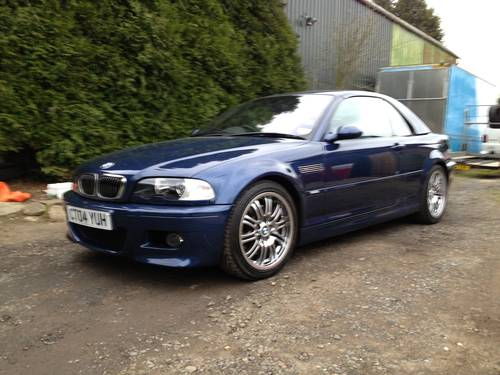2004 BMW M 3 Convertible. For Sale (picture 4 of 6)