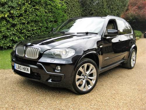 2010 BMW X5 35D xDrive M Sport With Only 30,000 Miles From New For Sale (picture 1 of 6)