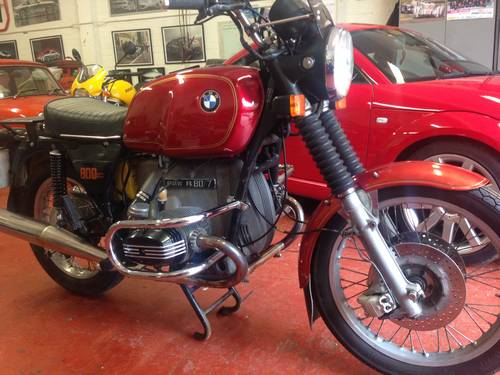 1978 Very interesting BMW R80/7 SOLD (picture 6 of 6)