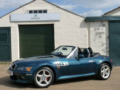 1999 BMW Z3, 2.8 wide bodied, high specification SOLD (picture 1 of 6)