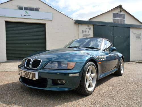 1999 BMW Z3, 2.8 wide bodied, high specification SOLD (picture 4 of 6)