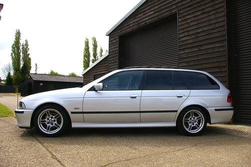 2003 BMW E39 525i M-Sport Automatic Touring (43,954 miles) SOLD (picture 1 of 6)