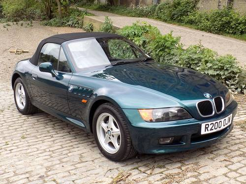 1998 BMW Z3 1.9i ROADSTER SOLD (picture 3 of 6)