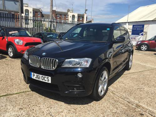 2012 BMW X3 35d M-sport Auto SAT NAV  For Sale (picture 1 of 6)
