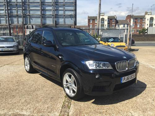 2012 BMW X3 35d M-sport Auto SAT NAV  For Sale (picture 2 of 6)