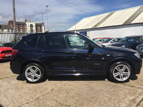 2012 BMW X3 35d M-sport Auto SAT NAV  For Sale (picture 3 of 6)