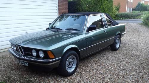 newest 29556 d17d4 1982 BMW E21 323i Baur Convertible TC1 For Sale SOLD | Car ...