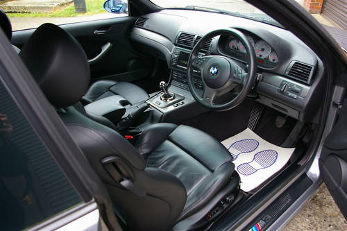 2004 BMW E46 M3 3.2 SMG Coupe (51,232 miles) SOLD (picture 4 of 6)