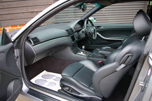 2004 BMW E46 M3 3.2 SMG Coupe (51,232 miles) SOLD (picture 5 of 6)