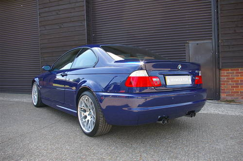 2006 E46 M3 3.2 CS Coupe 6 Speed Manual (8,632 miles) POA  SOLD (picture 3 of 6)