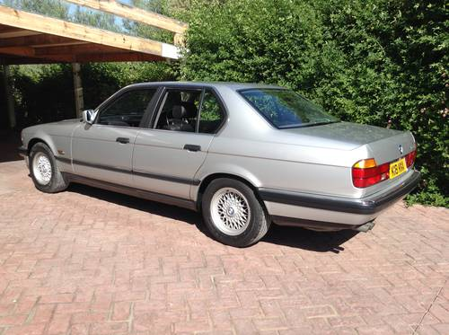 Bmw 730i  V8 M-60 , E32 ,1993  ,EBC SUSPENSION