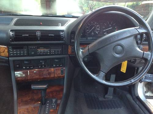 Bmw 730i  V8 M-60 , E32 ,1993  ,EBC SUSPENSION  For Sale (picture 3 of 6)