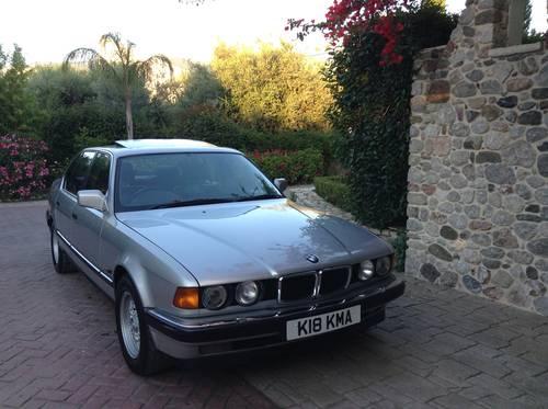 Bmw 730i  V8 M-60 , E32 ,1993  ,EBC SUSPENSION  For Sale (picture 6 of 6)
