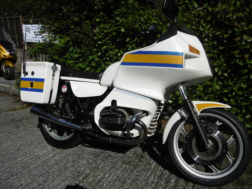 1987 Stunning R80 RT police bike  SOLD (picture 1 of 6)
