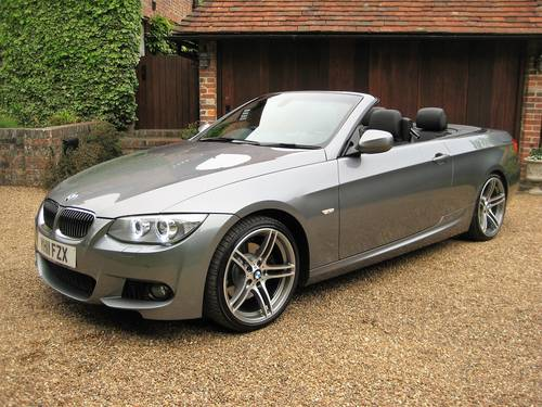 2011 BMW 330D M Sport Convertible With £7k Of Optional Extras For Sale (picture 1 of 6)