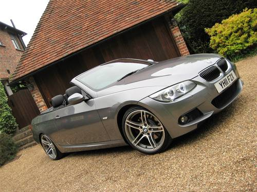 2011 BMW 330D M Sport Convertible With £7k Of Optional Extras For Sale (picture 2 of 6)