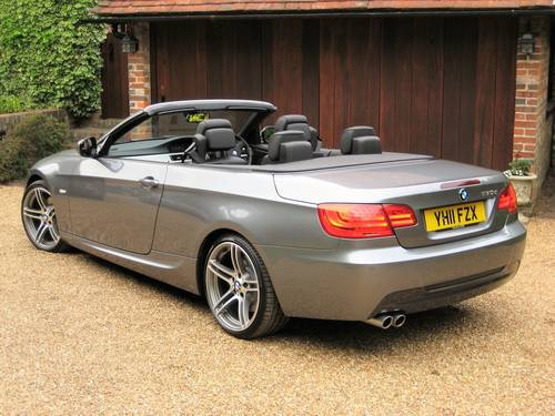 2011 BMW 330D M Sport Convertible With £7k Of Optional Extras For Sale (picture 5 of 6)