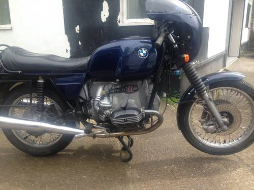 1977 Genuine BMW R100S SOLD (picture 2 of 5)