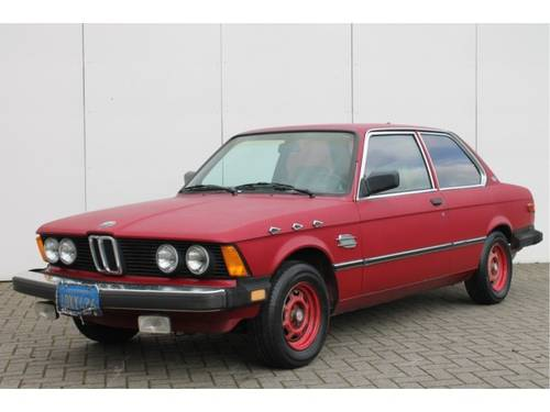 1982 BMW 3 Serie 320i For Sale (picture 1 of 6)