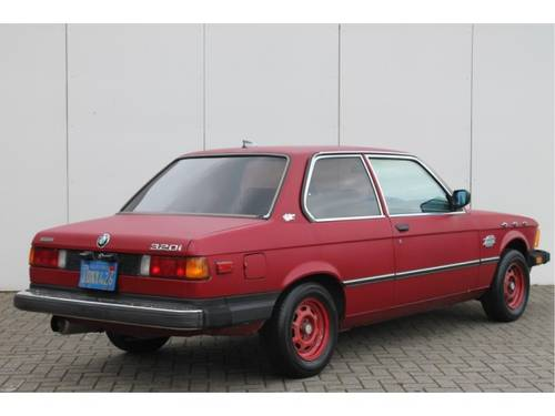 1982 BMW 3 Serie 320i For Sale (picture 2 of 6)