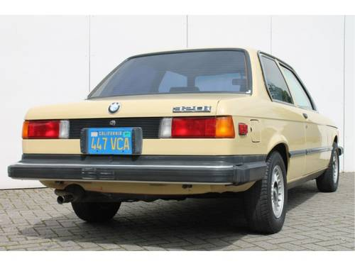 1978 BMW 3 Serie 320i For Sale (picture 5 of 6)