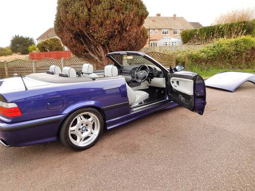 1998 M3 EVO 3.2 MANUAL CONVERTIBLE -- RARE INDIVIDUAL SPECIAL ORD SOLD (picture 1 of 6)