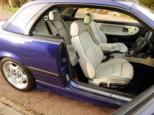 1998 M3 EVO 3.2 MANUAL CONVERTIBLE -- RARE INDIVIDUAL SPECIAL ORD SOLD (picture 3 of 6)