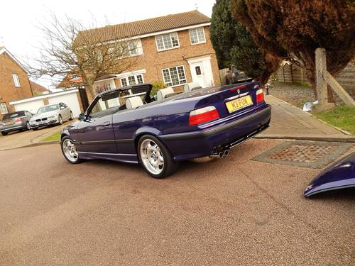 1998 M3 EVO 3.2 MANUAL CONVERTIBLE -- RARE INDIVIDUAL SPECIAL ORD SOLD (picture 5 of 6)