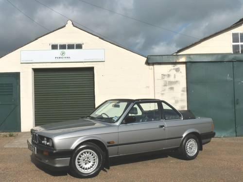 1988 BMW 320i Baur Cabriolet, one owner SOLD (picture 1 of 6)