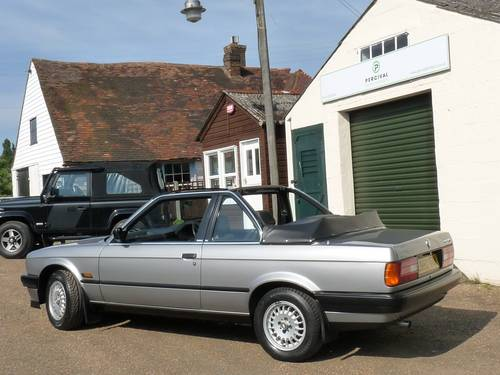 1988 BMW 320i Baur Cabriolet, one owner SOLD (picture 4 of 6)