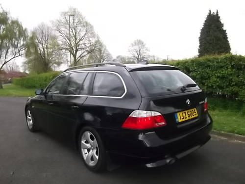 BMW Touring 520se 2.0TD, 2006 / 56 Estate, Turbo Diesel  SOLD (picture 1 of 6)