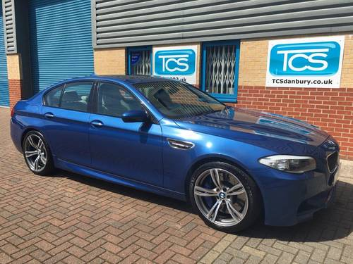 2013/13 BMW M5 DCT Saloon 550BHP Automatic SOLD (picture 1 of 6)