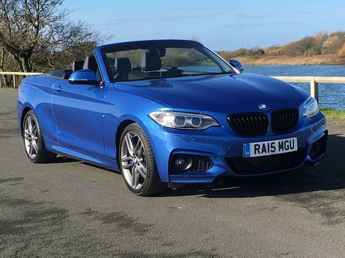 2015 BMW 228i M-SPORT AUTO CONVERTIBLE - RARE! For Sale (picture 1 of 6)