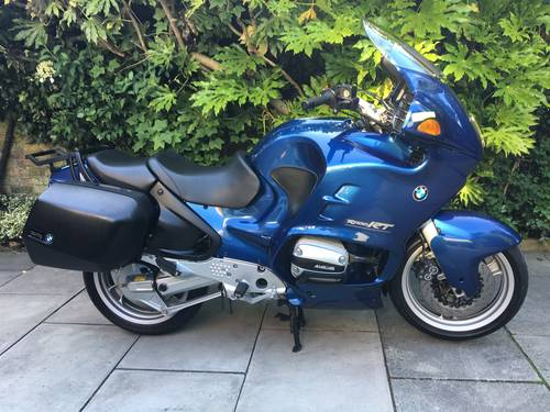 1996 BMW R110 RT, 1 Owner, Bmw History, Exceptional Condition SOLD (picture 1 of 6)