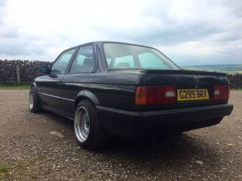 1990 Bmw E30 Coupe With M52 2 8 Engine Sold Car And Classic