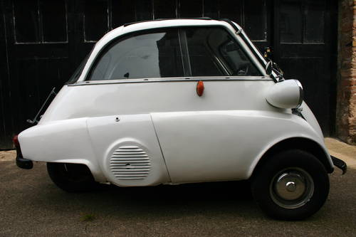 1962 Bmw Isetta Bubble Car Sold Car And Classic