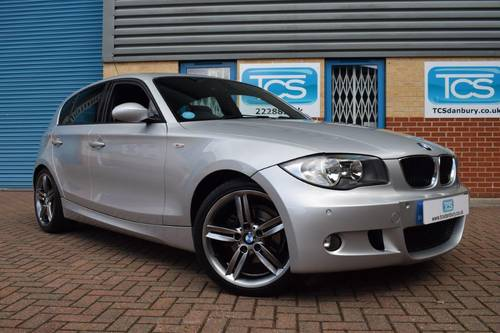 2008 BMW 118d M Sport Automatic Hatchback SOLD (picture 1 of 6)