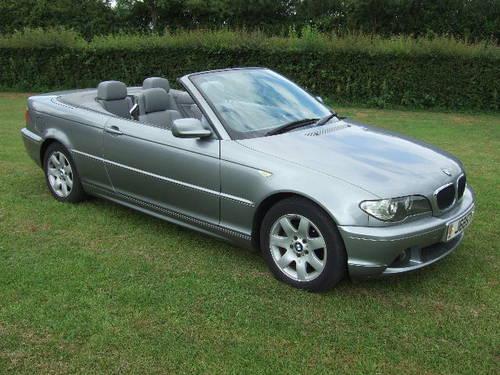 2004 BMW E46 318Ci 2.0 SE Convertible 51,500 miles For Sale (picture 1 of 6)
