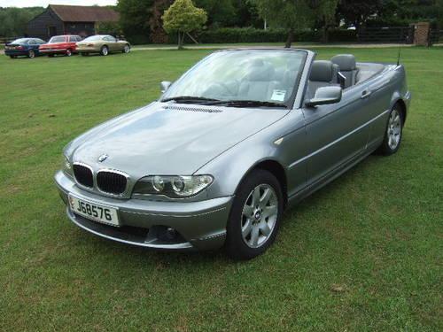 2004 BMW E46 318Ci 2.0 SE Convertible 51,500 miles For Sale (picture 2 of 6)
