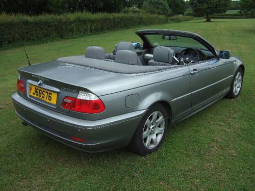 2004 BMW E46 318Ci 2.0 SE Convertible 51,500 miles For Sale (picture 3 of 6)